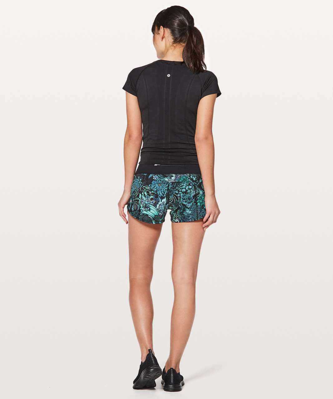 "Lululemon Speed Up Short *2.5"" - Memoir Multi Green / Black"