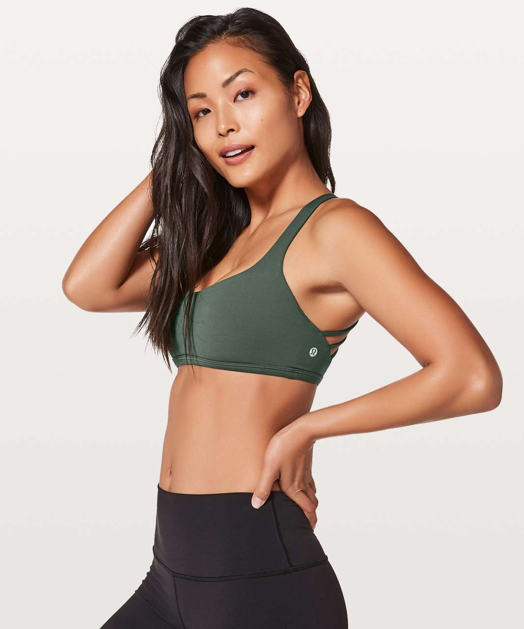 Lululemon Free To Be Bra (Wild) - Dark Forest (First Release)