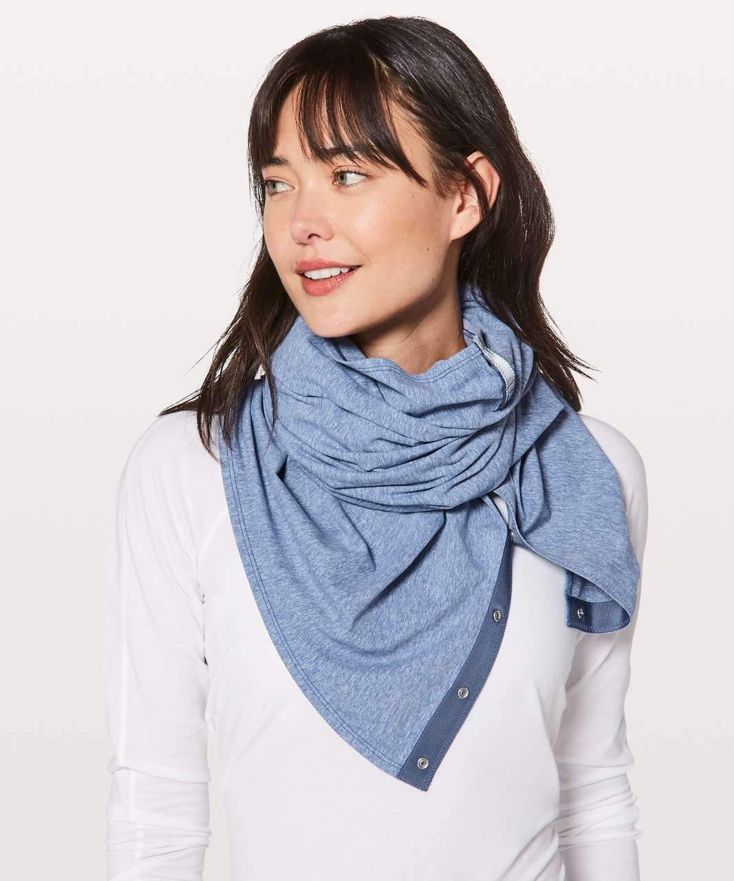 Lululemon Vinyasa Scarf *Rulu - Heathered Brilliant Blue
