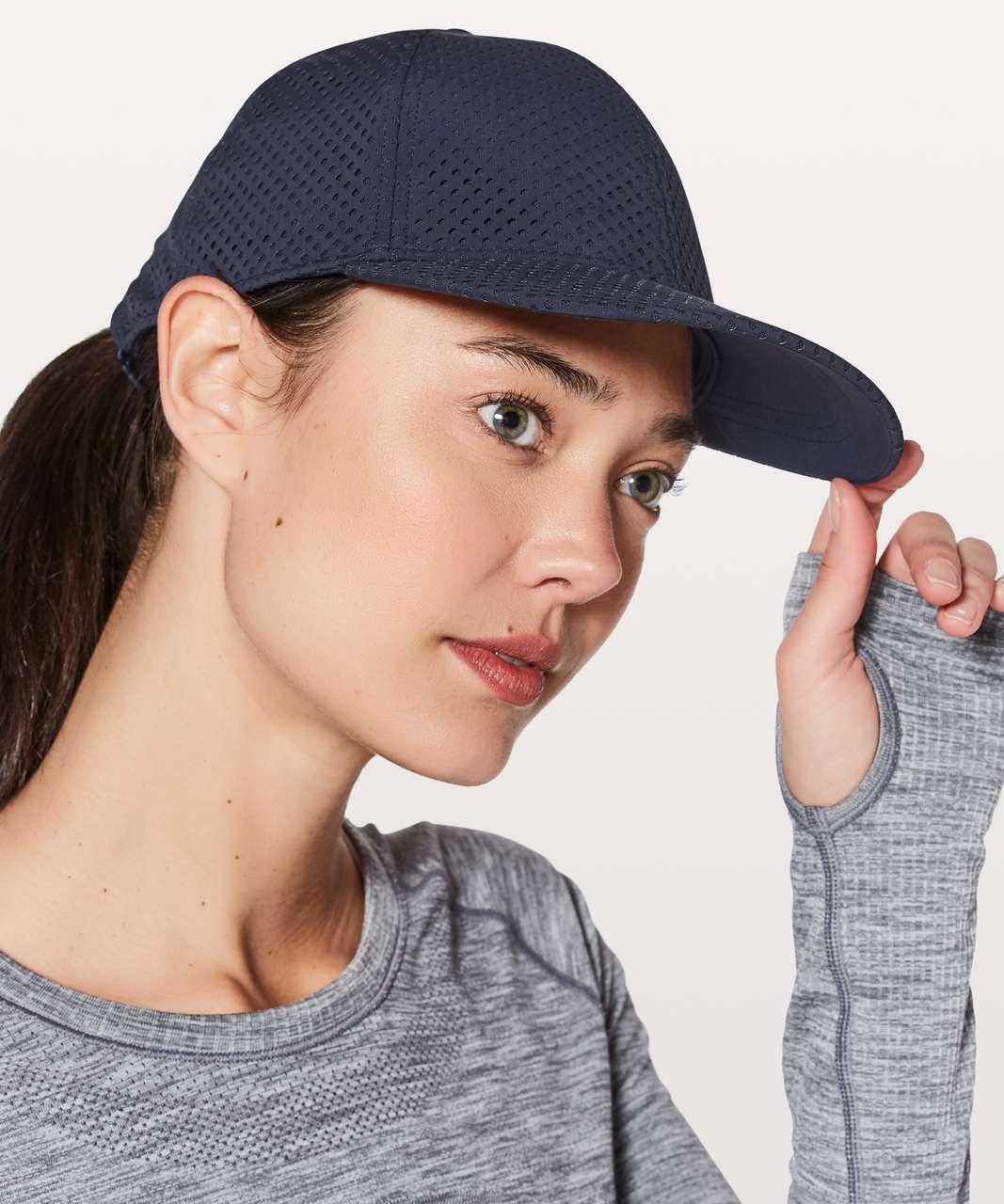 2dee773dabd Lululemon Baller Hat  Breeze - Midnight Navy - lulu fanatics