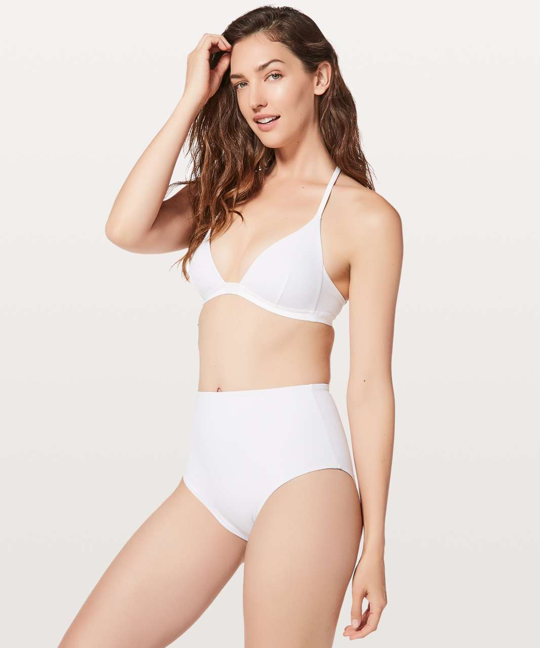 db9820df8 Lululemon Deep Sea Top - White - lulu fanatics