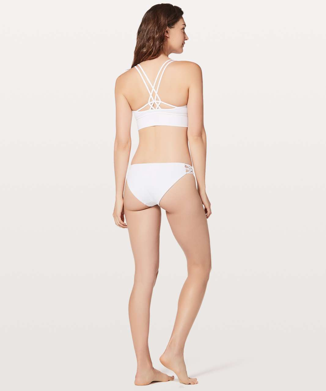 02709c0f4 Lululemon Coastline Top - White - lulu fanatics