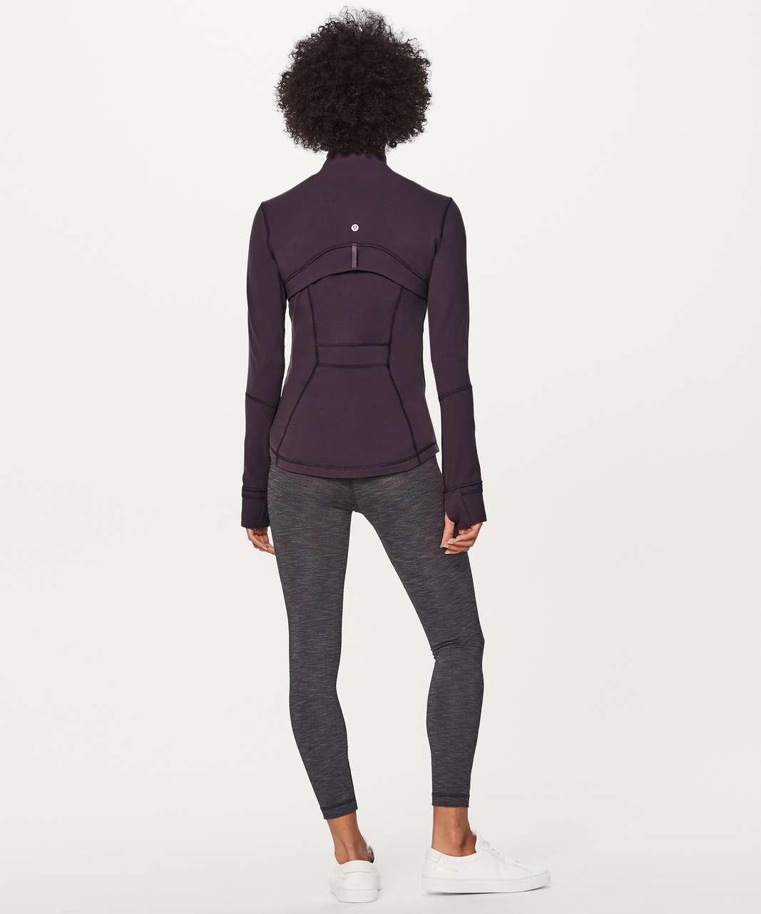 Lululemon Define Jacket - Black Currant