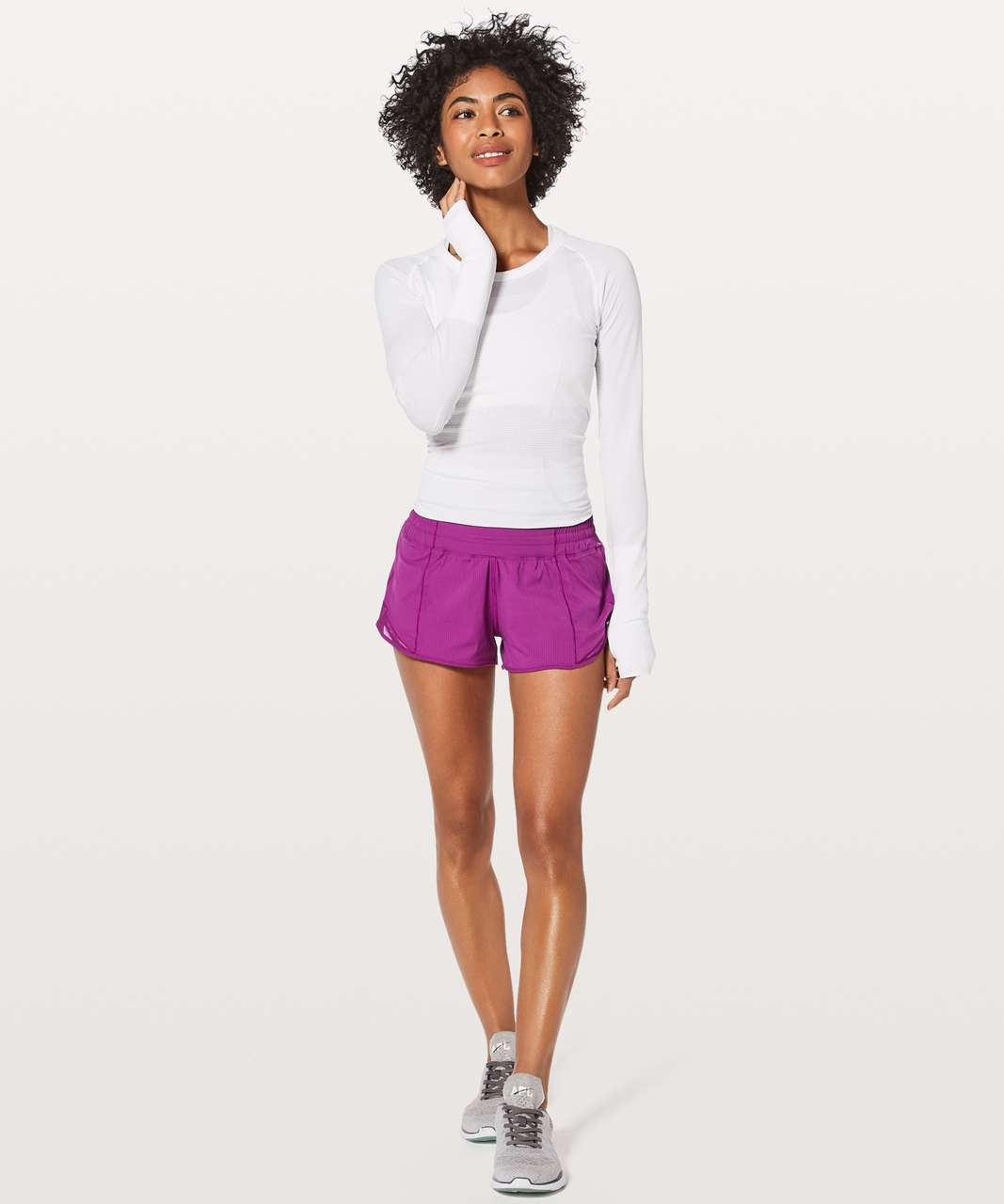 "Lululemon Hotty Hot Short II *2.5"" - Regal Plum"