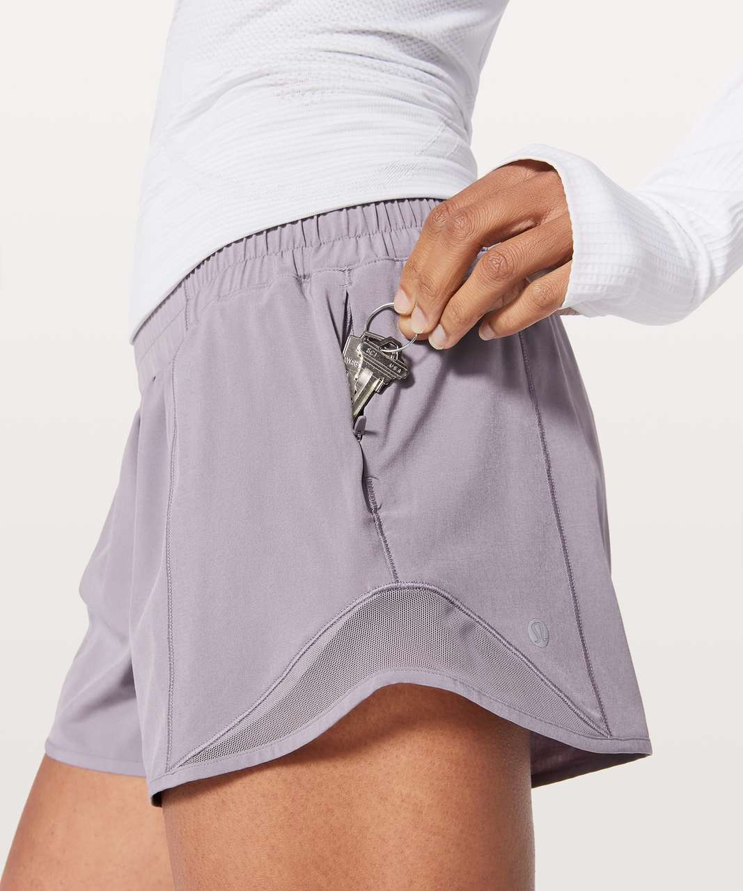 "Lululemon Hotty Hot Short II *Long 4"" - Dusty Dawn"