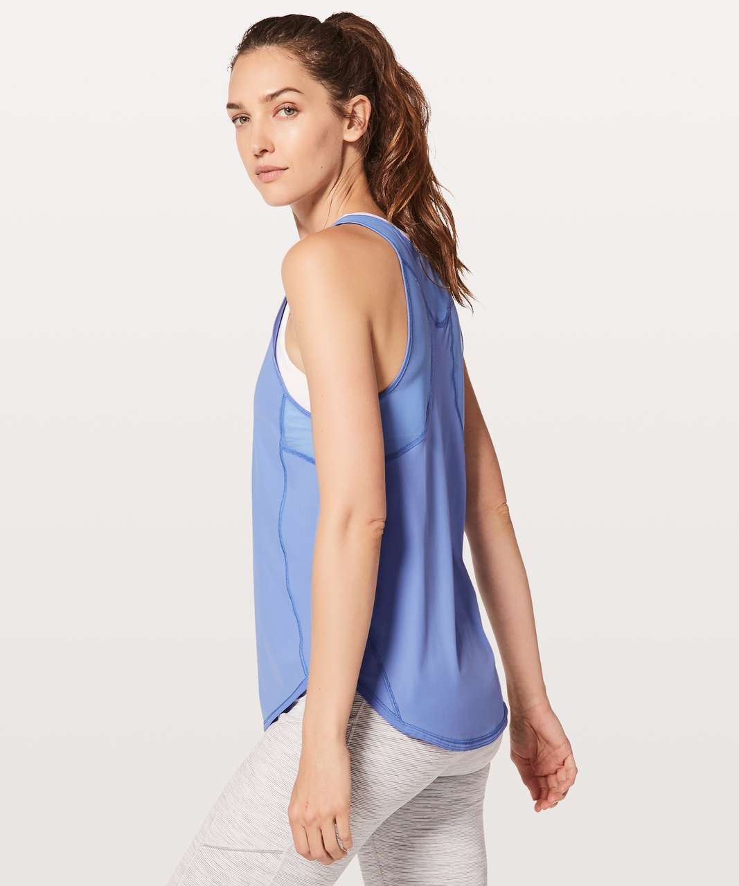 Lululemon Sculpt Tank II - Light Horizon