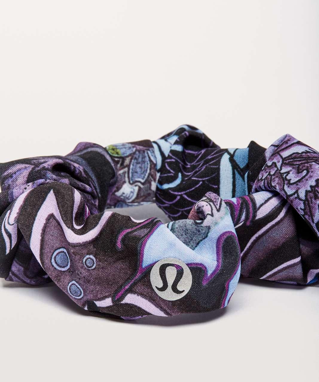 Lululemon Uplifting Scrunchie - Memoir Multi Purple