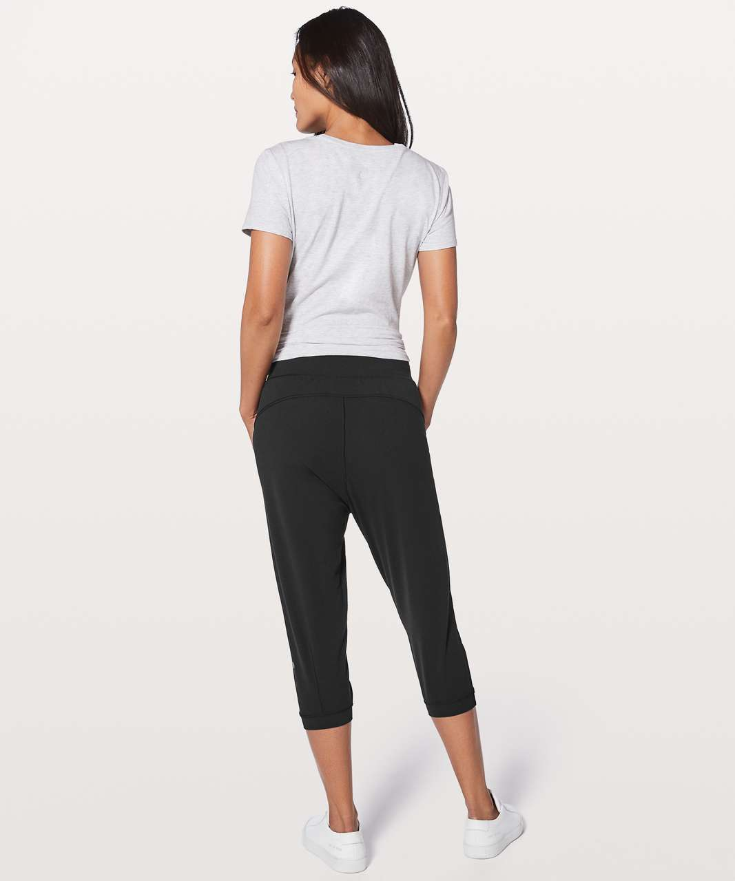 "Lululemon Rejuvenate Crop *18"" - Black"