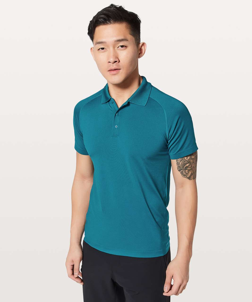 Lululemon Metal Vent Tech Polo - Capri / Capri
