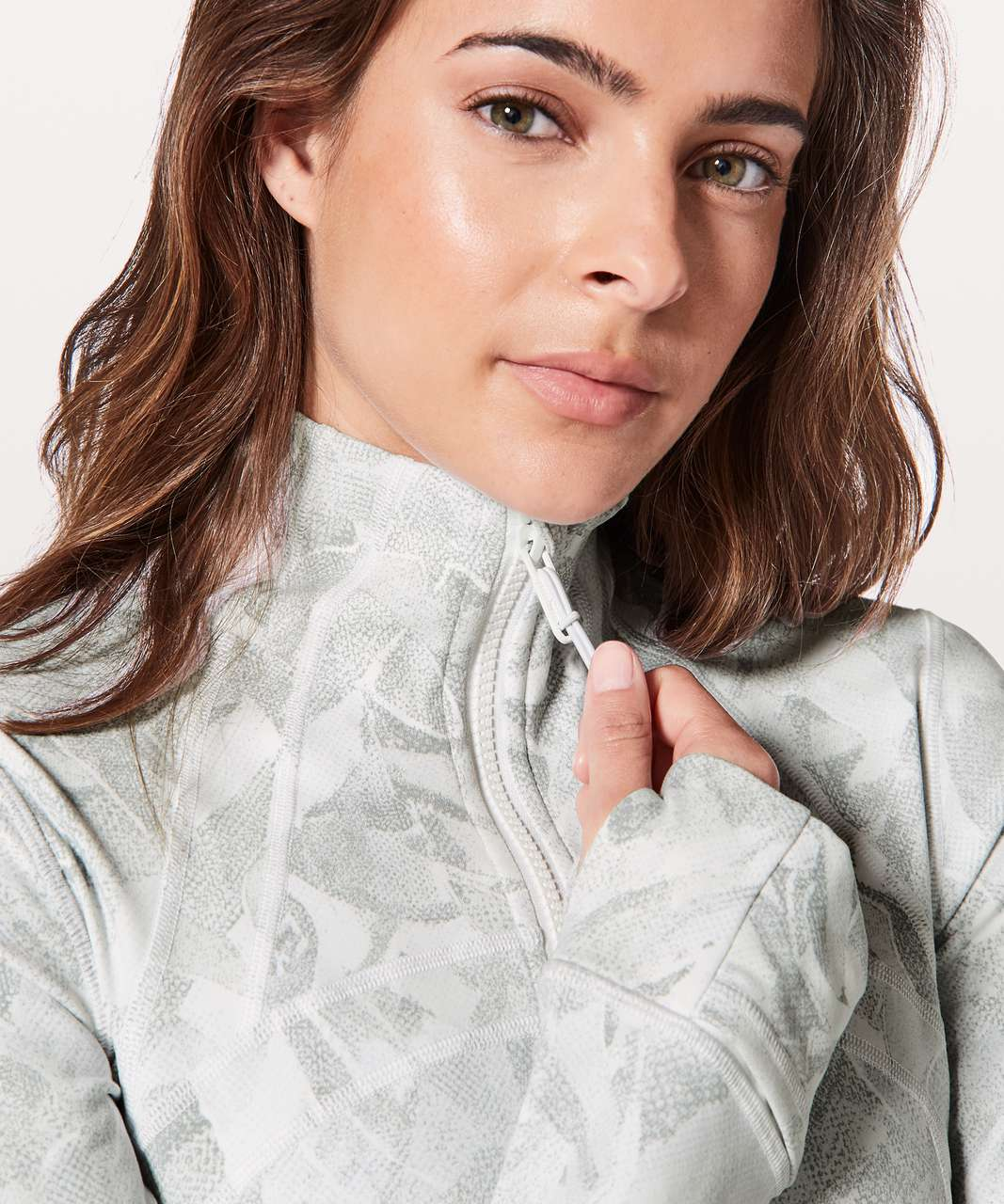Lululemon Define Jacket - Jasmine White Multi
