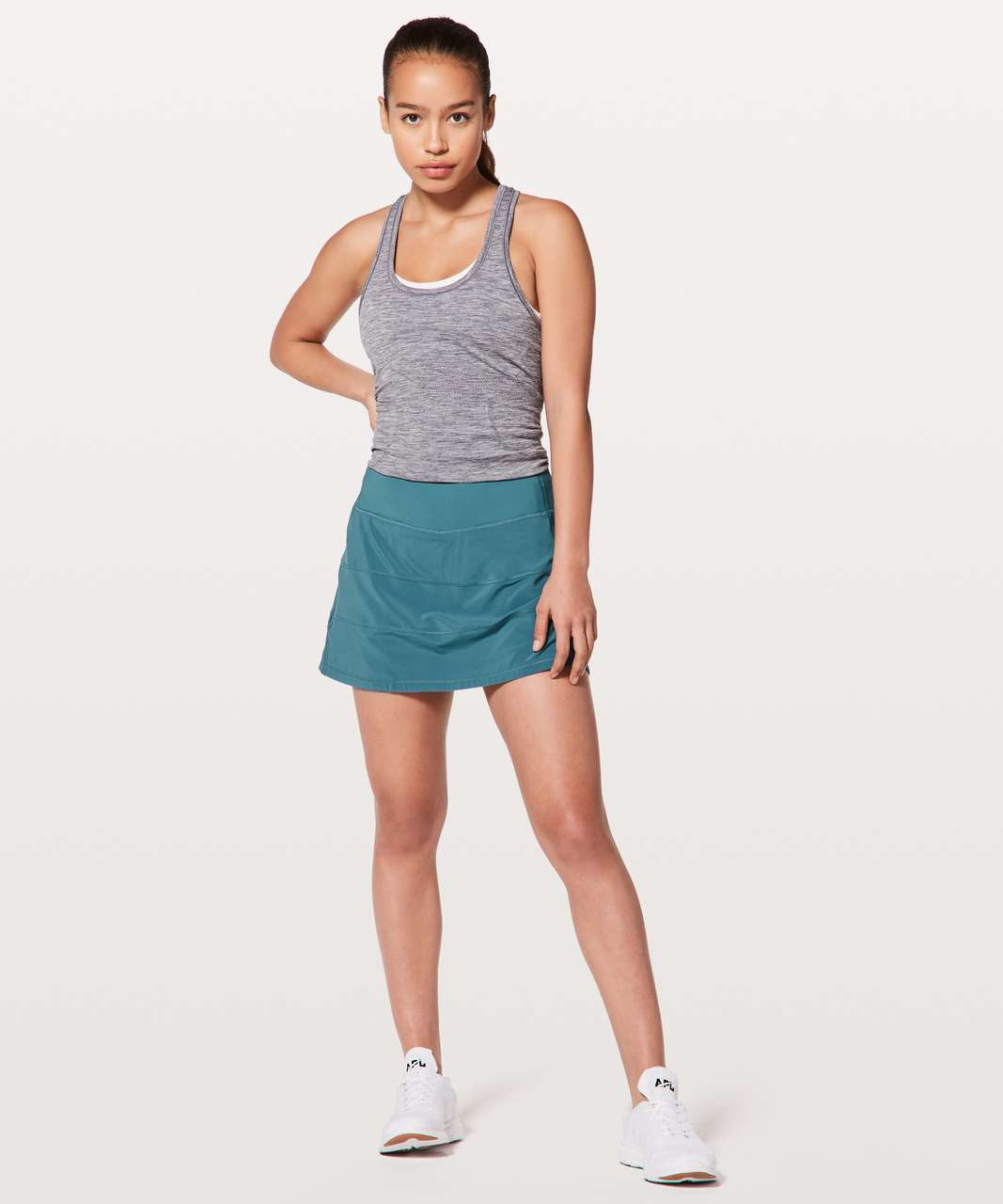 "Lululemon Pace Rival Skirt (Tall) *4-way Stretch 15"" - Persian Blue"
