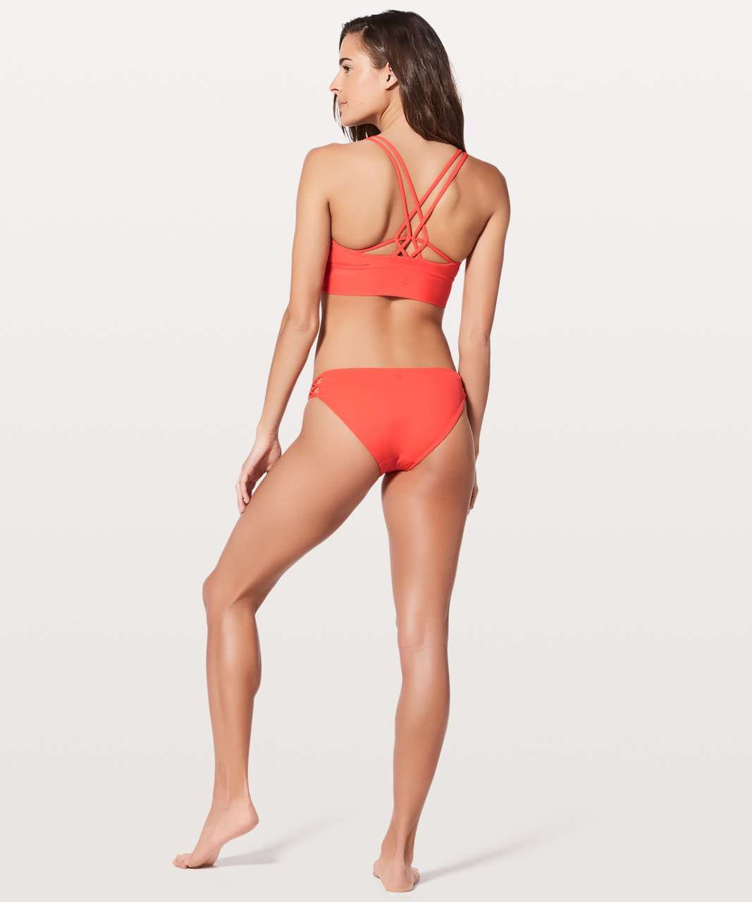 3aaa60c13 Lululemon Coastline Top - Red Orange - lulu fanatics