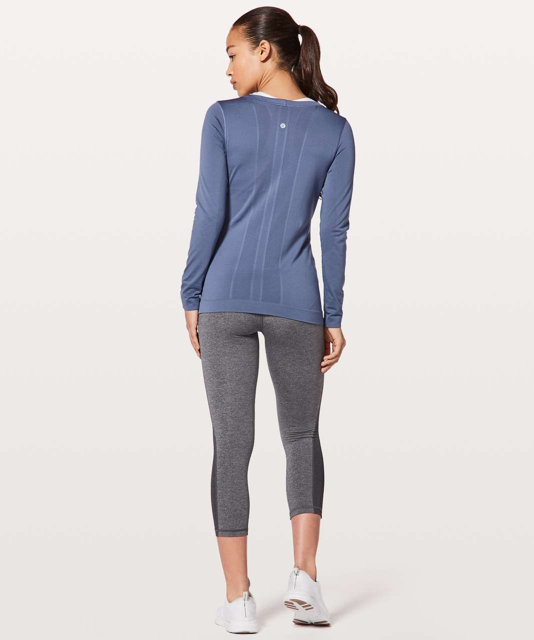 Lululemon Swiftly Tech Long Sleeve (Breeze) *Relaxed Fit - Brilliant Blue / Brilliant Blue