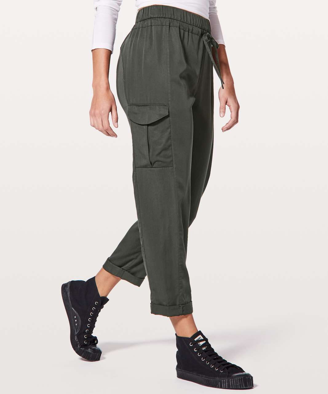 "Lululemon Move Lightly Pant *25"" - Evergreen"
