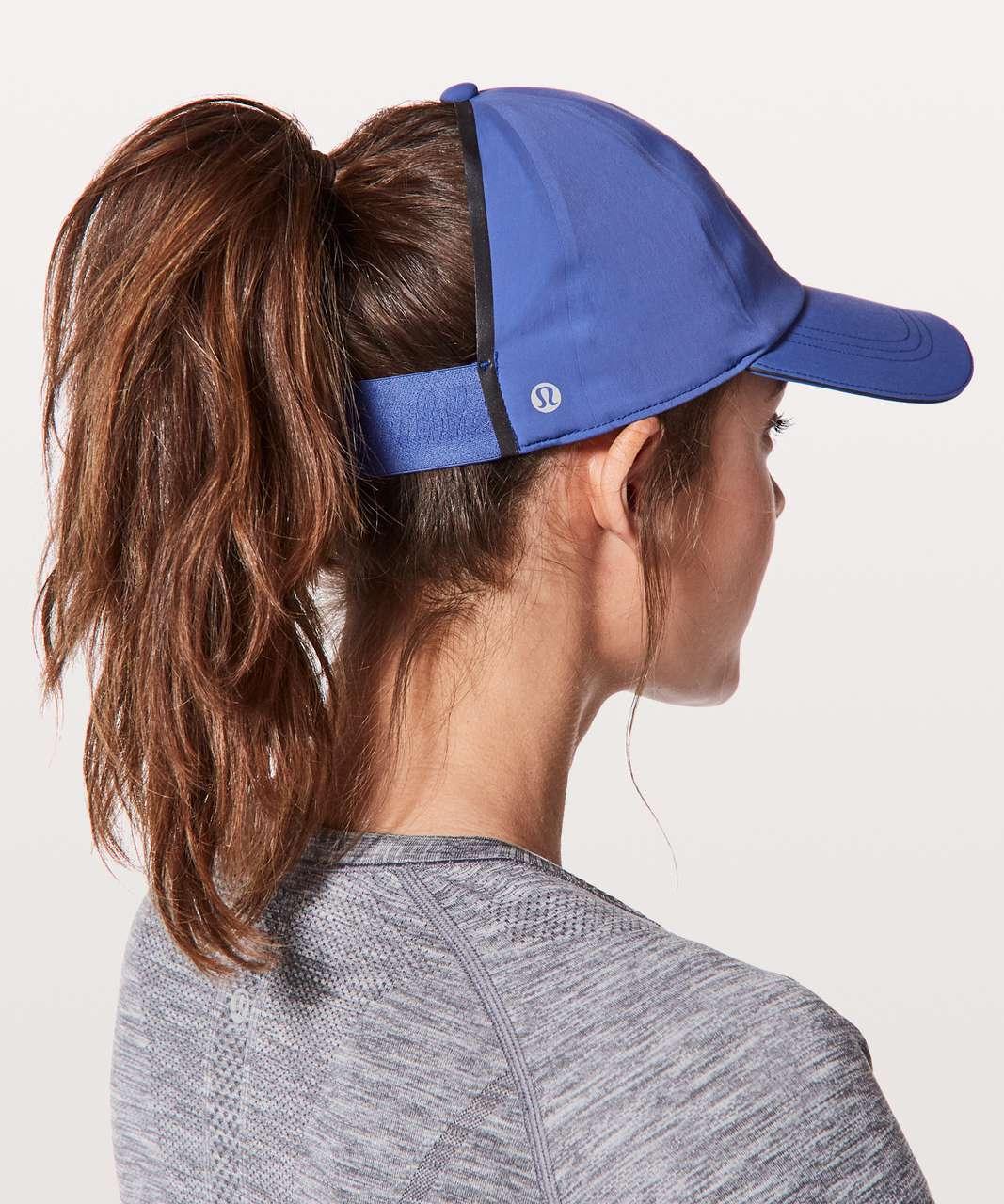 Lululemon Baller Hat Run  Ponytail - Moroccan Blue - lulu fanatics c898153b3c5