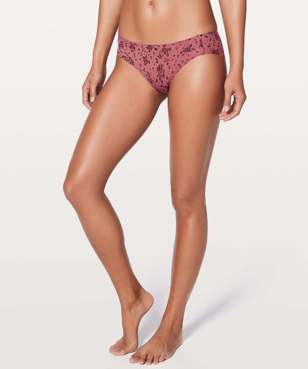 Lululemon Namastay Put Hipster - Pixie Floral So Merlot Redwood