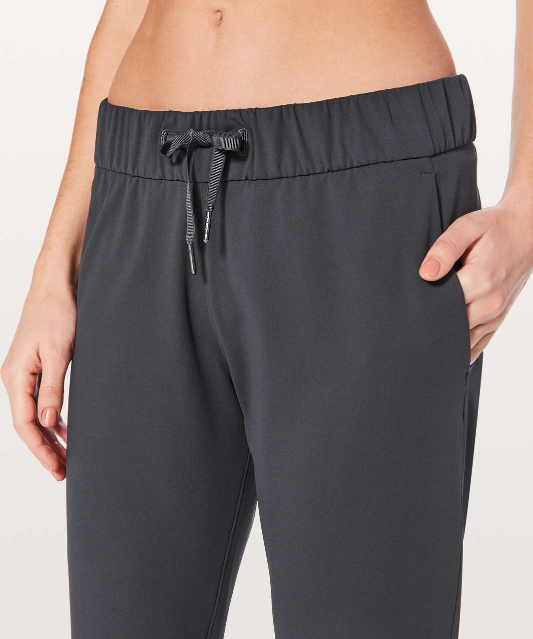 """Lululemon On The Fly Pant *28"""" - Blue Tied"""