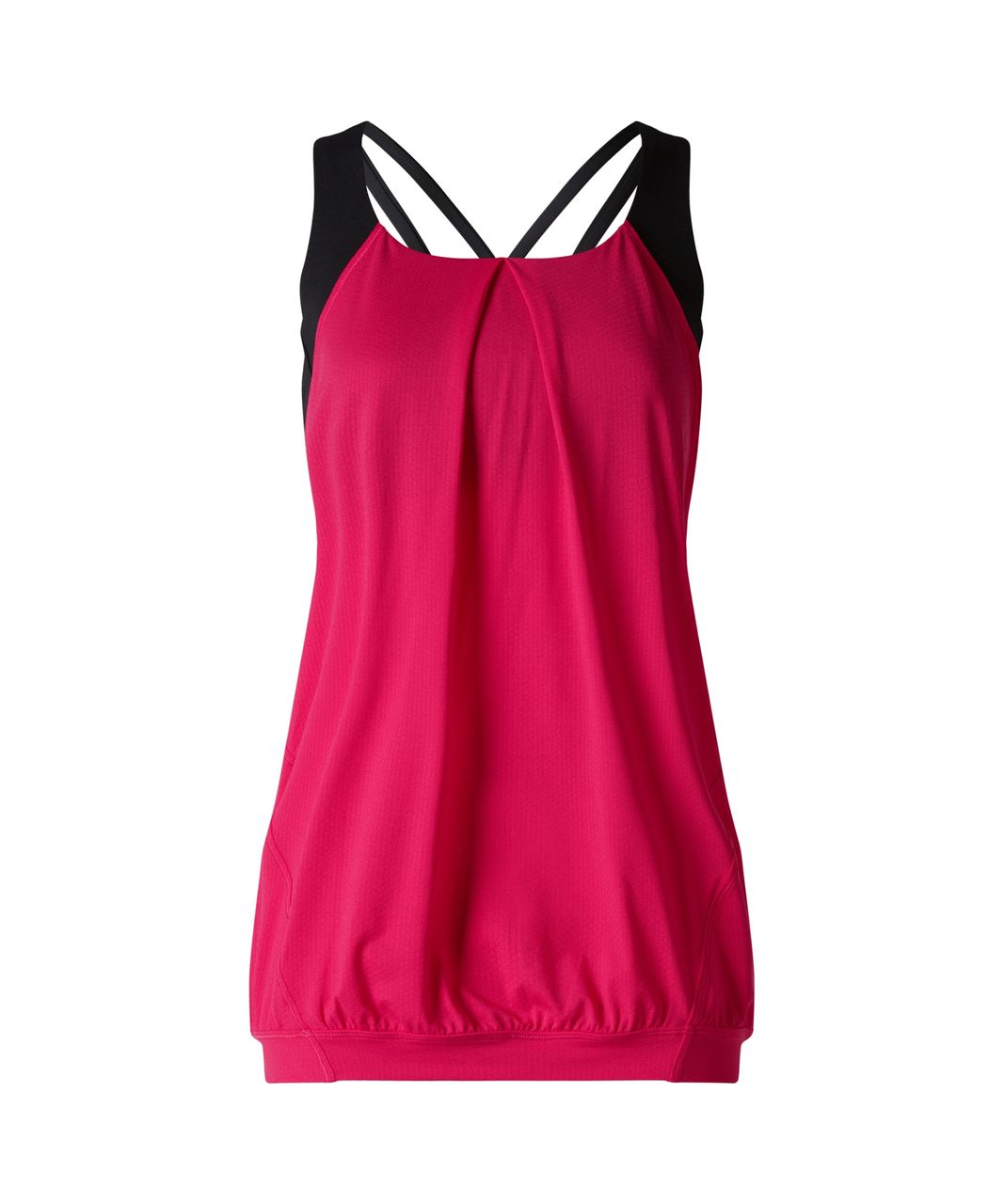Lululemon Nouveau Limits Tank - Boom Juice / Black