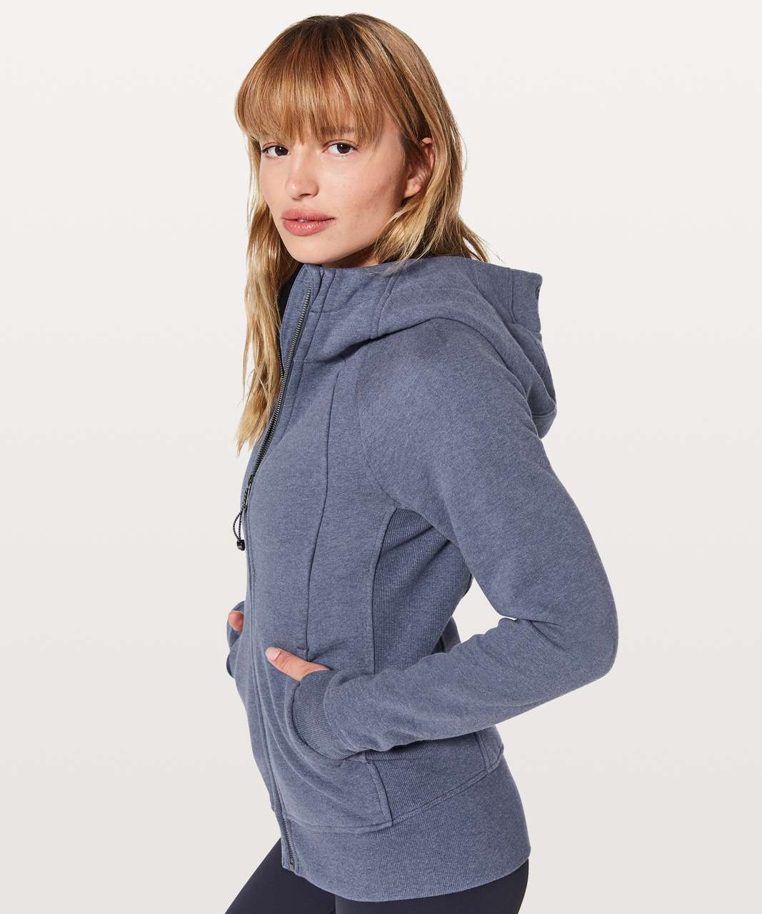 Lululemon Scuba Hoodie *Light Cotton Fleece - Heathered Dazed / Dazed