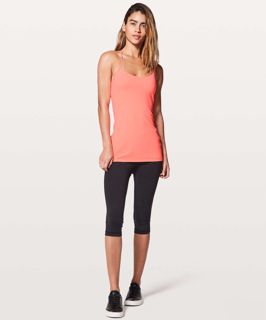 Lululemon Power Pose Tank *Light Support For A/B Cup - Sunset