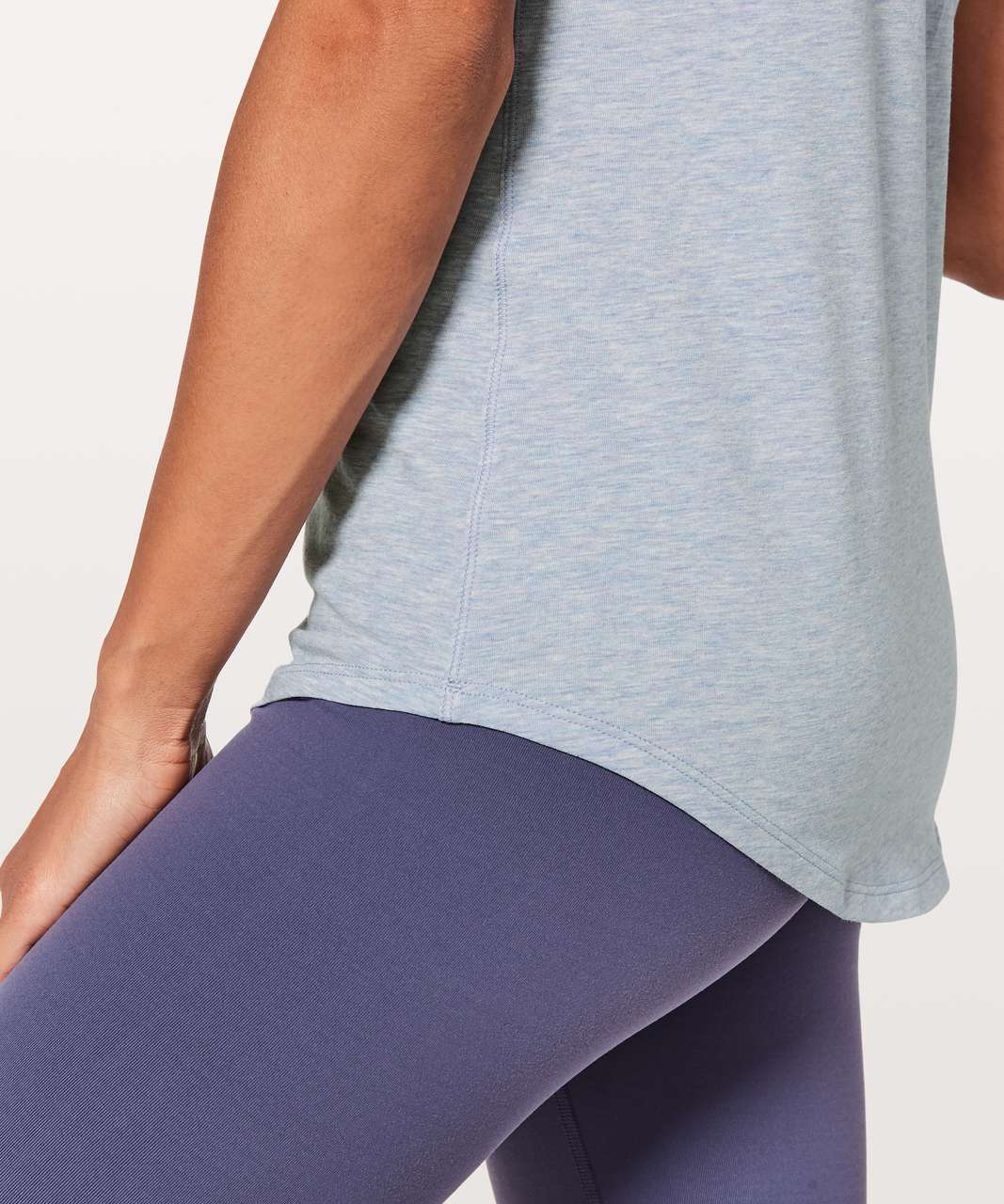Lululemon Love Tee V - Heathered Berry Mist