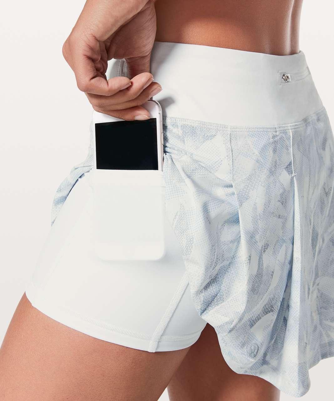 Lululemon Pace Rival Skirt (Regular) *No Panels - Jasmine White Multi / White