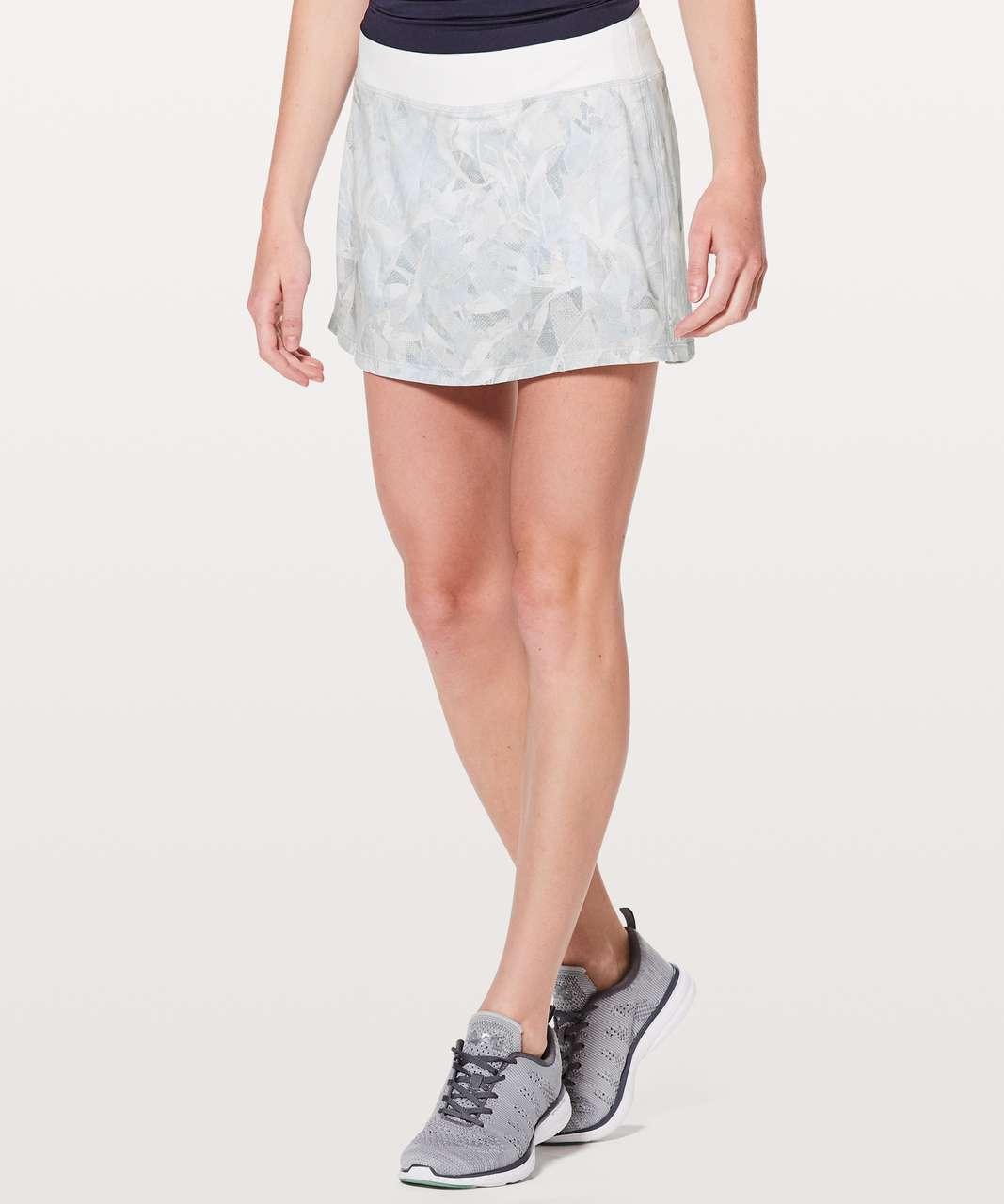 Lululemon Pace Rival Skirt (Tall) *No Panels - Jasmine White Multi / White