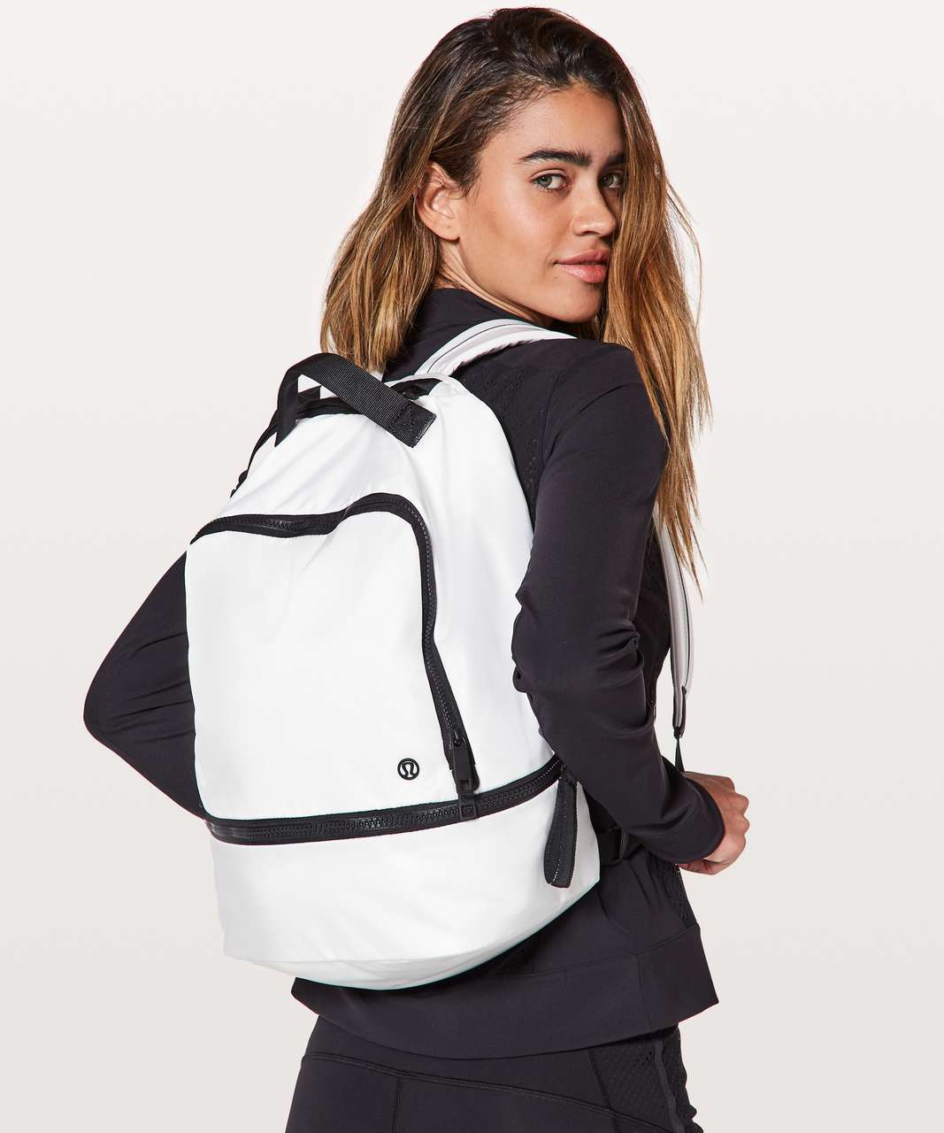 Lululemon City Adventurer Backpack *17L - White / Black