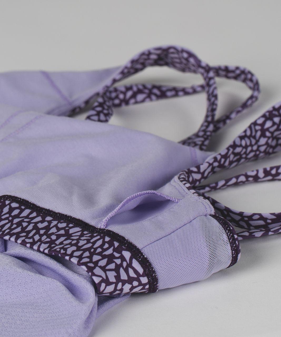 Lululemon Nouveau Limits Tank - Lilac / Miss Mosaic Lilac Deep Zinfandel