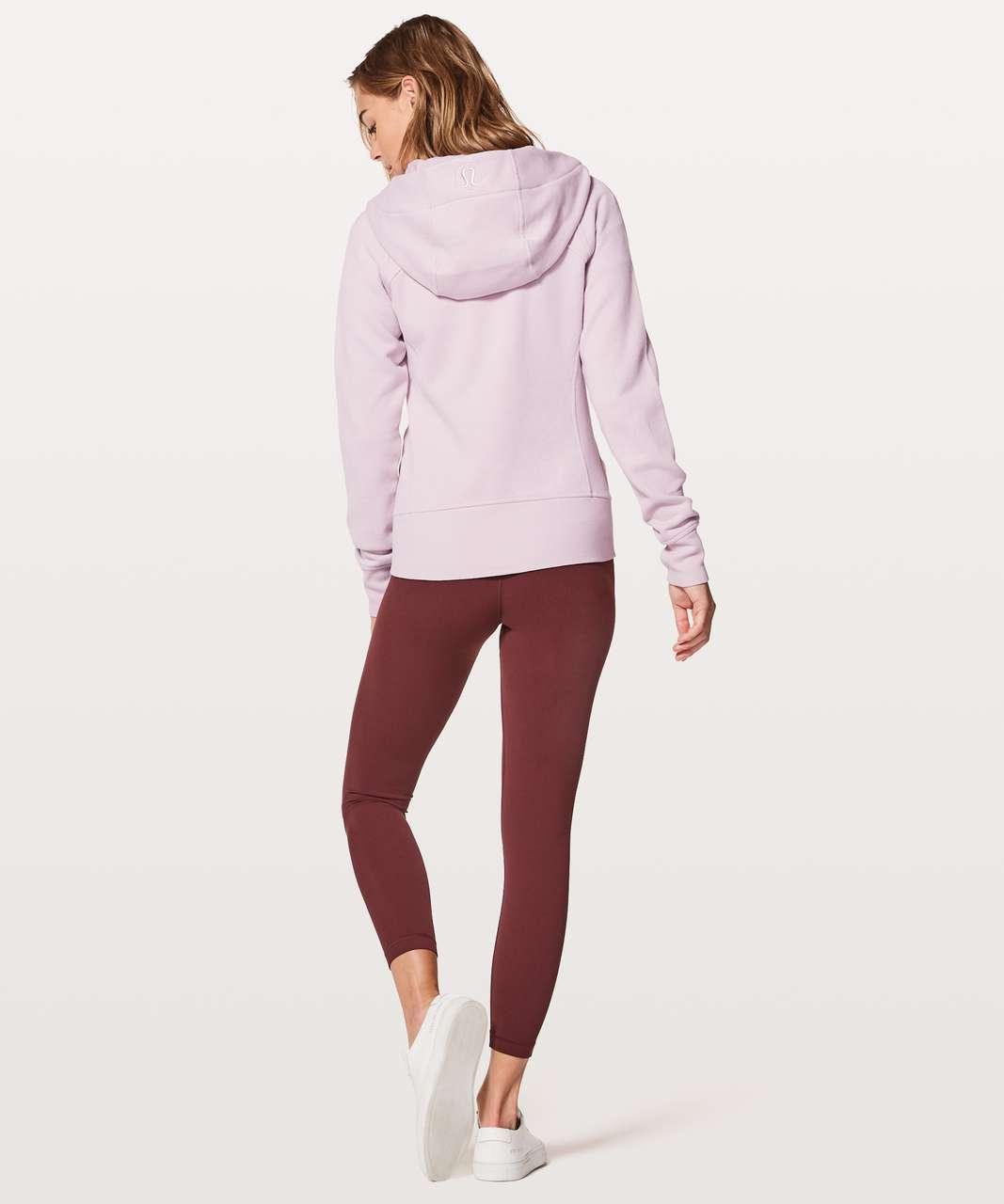 Lululemon Scuba Hoodie *Light Cotton Fleece - Porcelain Pink