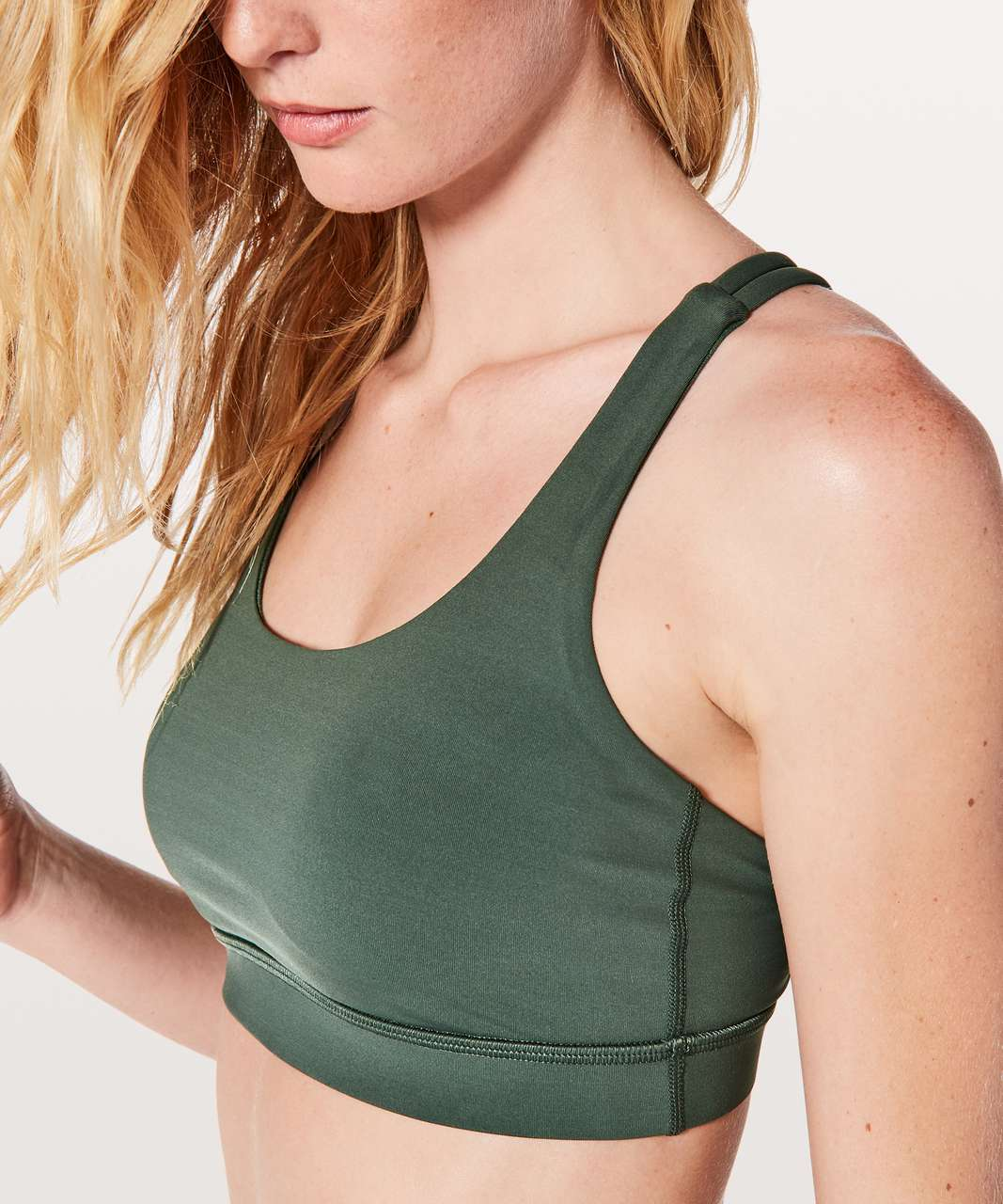 Lululemon Energy Bra - Dark Forest