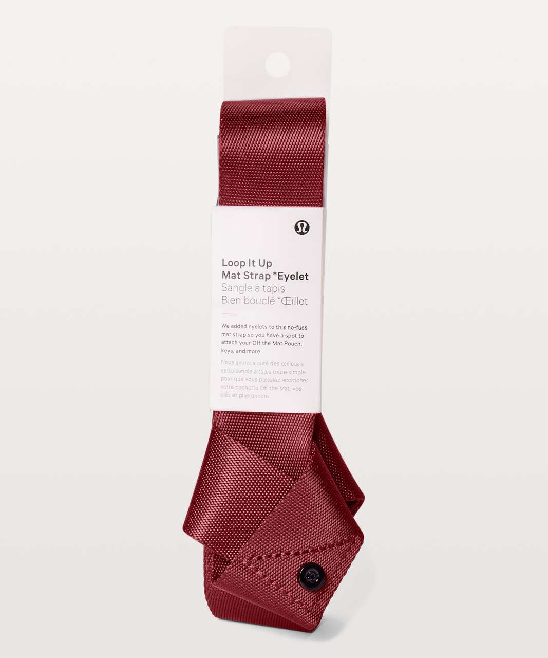 Lululemon Loop It Up Mat Strap *Eyelet - Dark Canyon