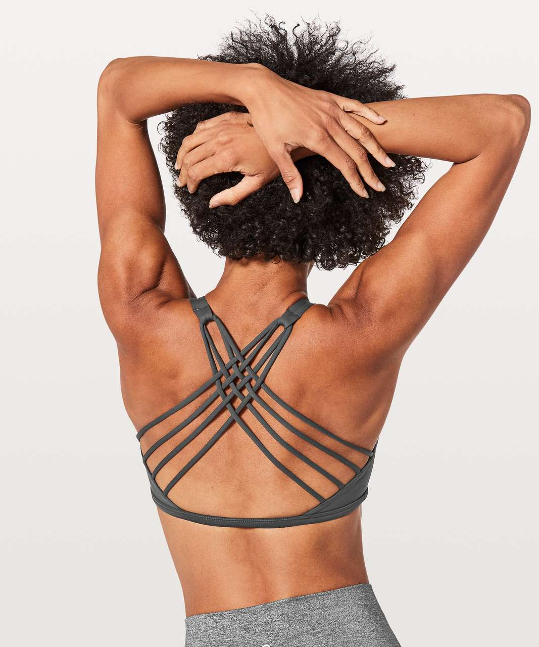 Lululemon Free To Be Bra (Wild) - Graphite Grey