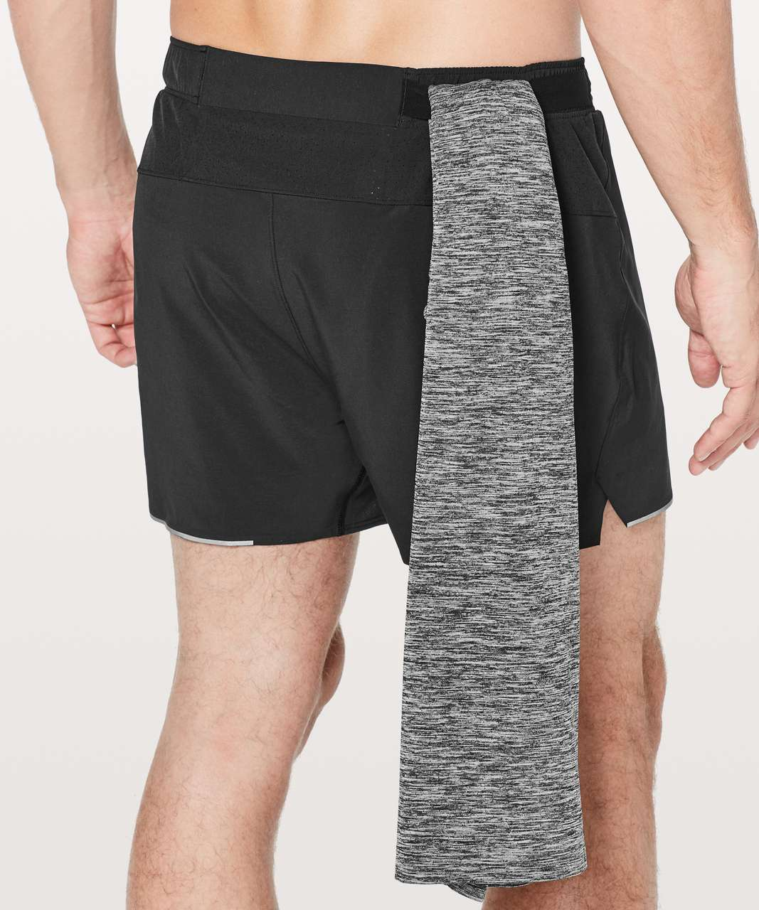 "Lululemon Surge Short Out Of Mind Liner 4"" - Black"