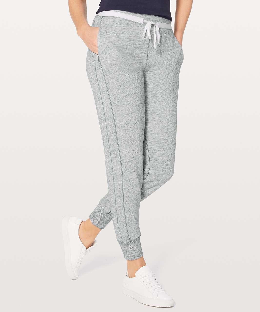 "Lululemon Cool & Collected Jogger *28"" - Heathered Space Dyed Nimbus"