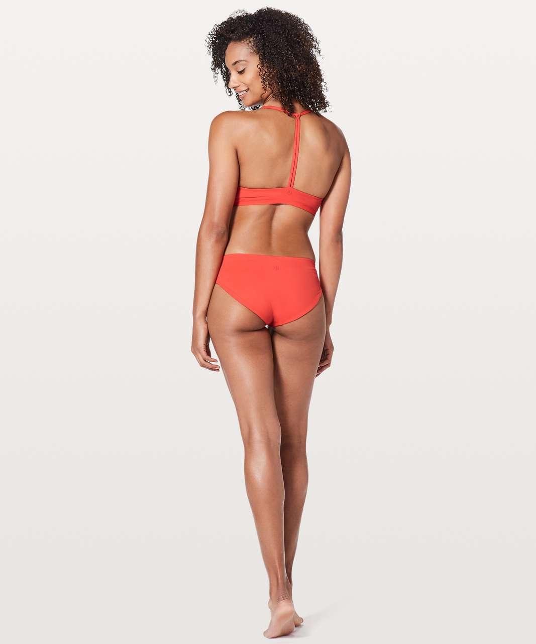 Lululemon Rising Tides Bottom - Red Orange