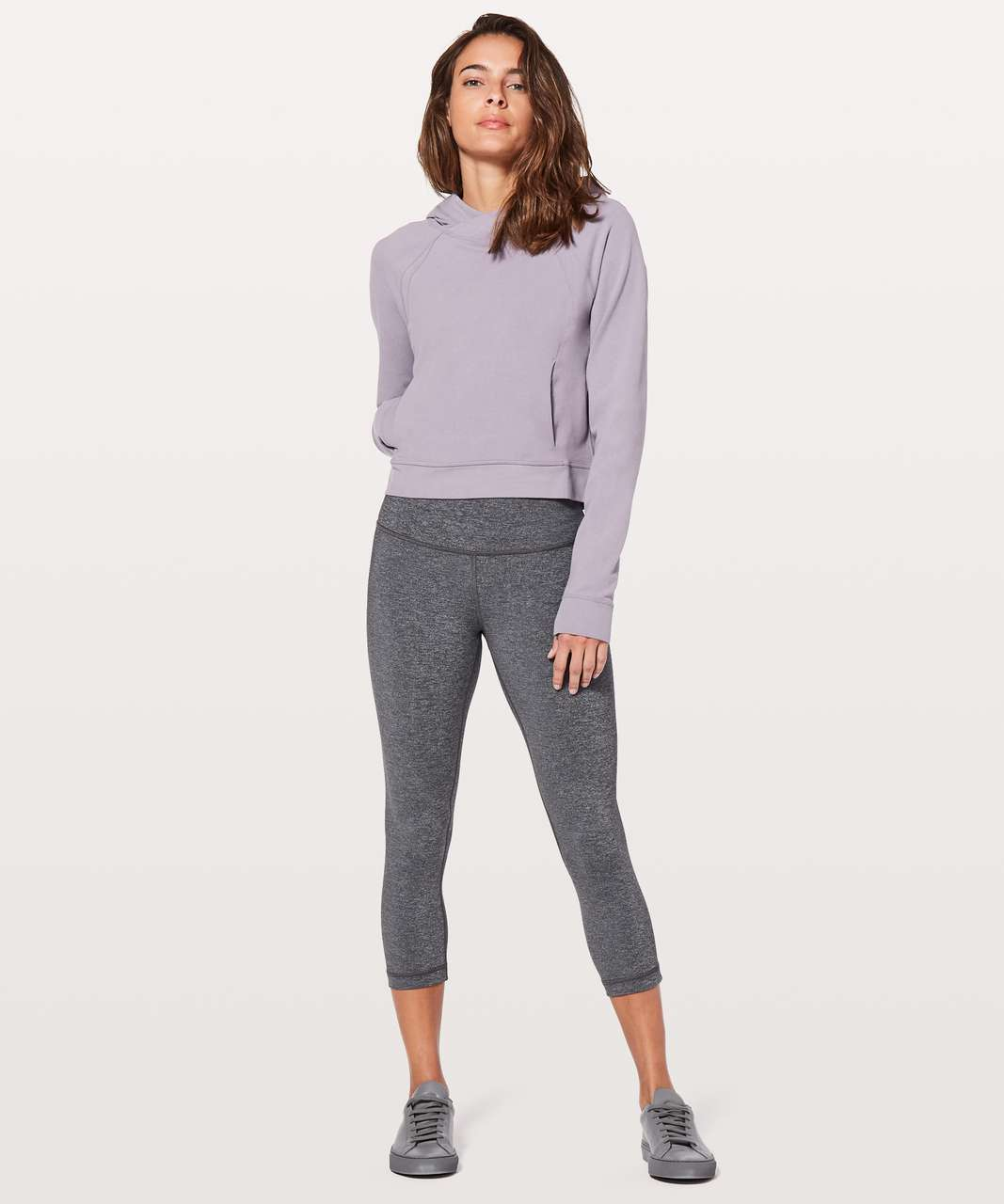 Lululemon Nice & Natural Popover - Dusty Dawn