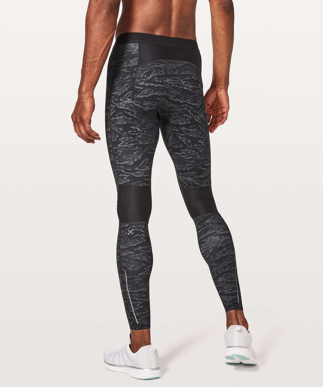 "Lululemon Surge Light Tight *27"" - Tiger Camo Multi Black"