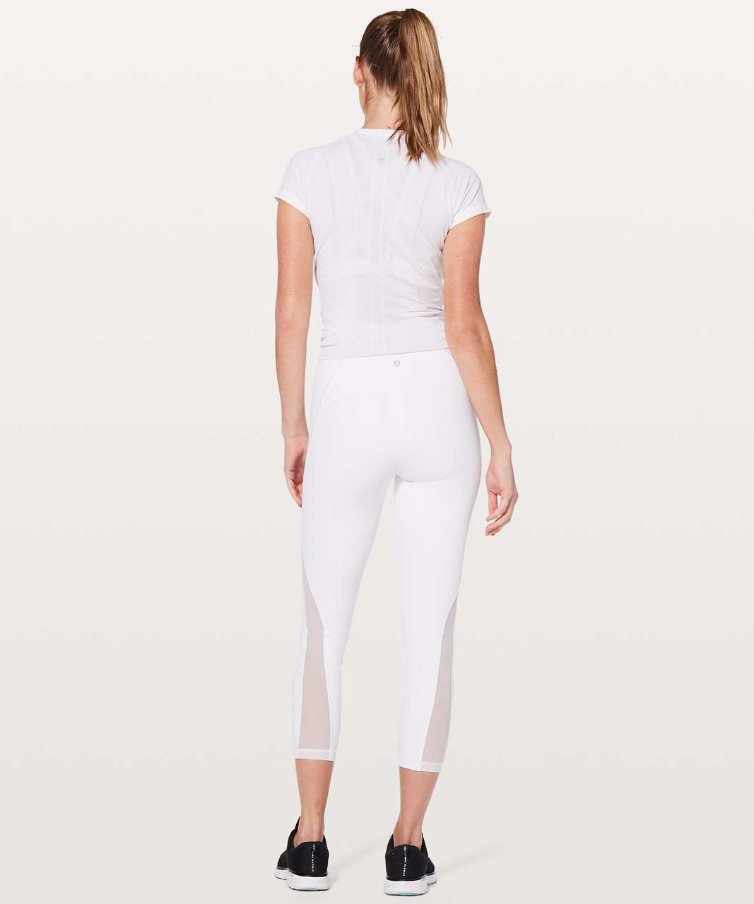 "Lululemon Train Times 7/8 Pant *25"" - White (First Release)"