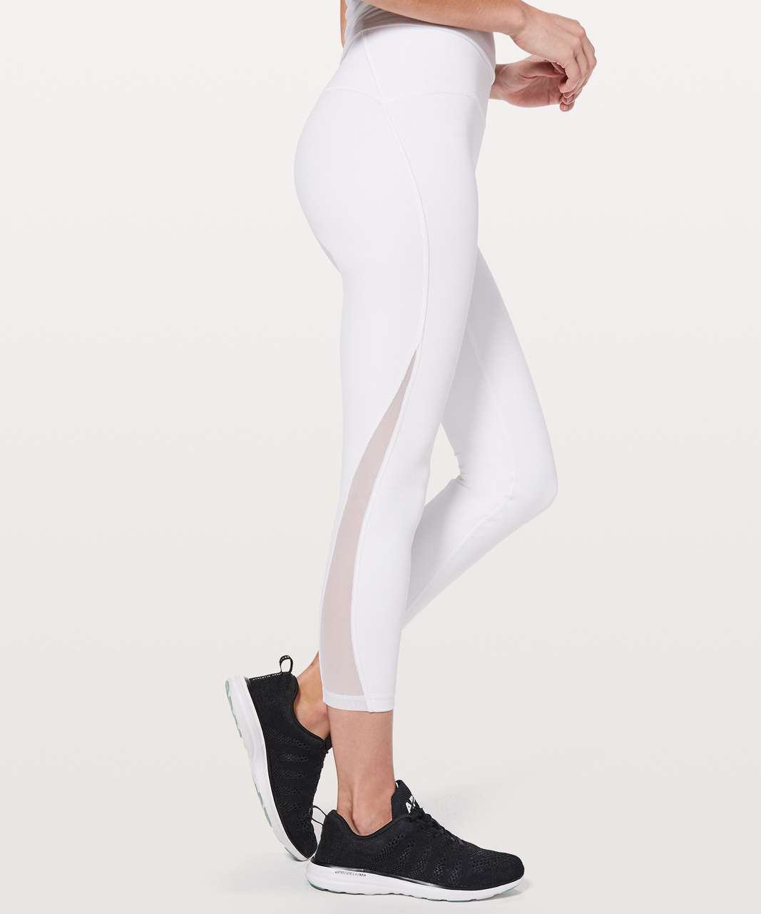 "Lululemon Train Times 7/8 Pant *25"" - White"
