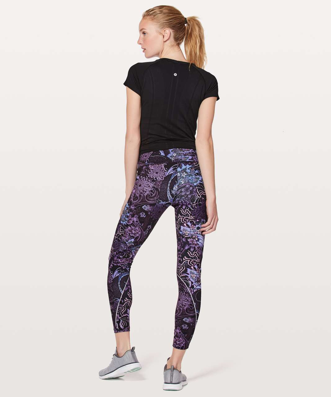 "Lululemon Chasing Miles Tight *25"" - Memoir Multi Purple"
