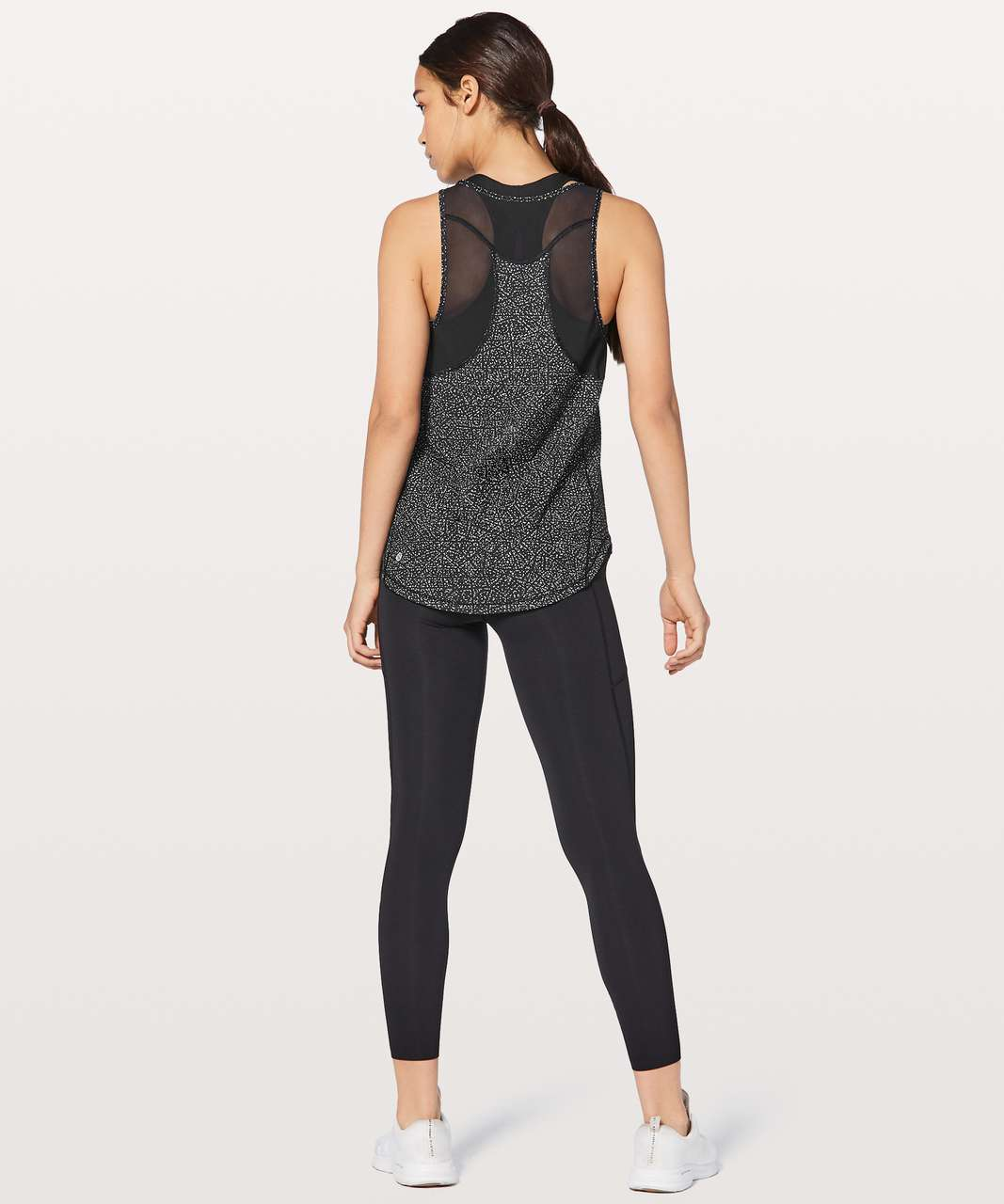 Lululemon Sculpt Tank II - Night View White Black / Black (First Release)