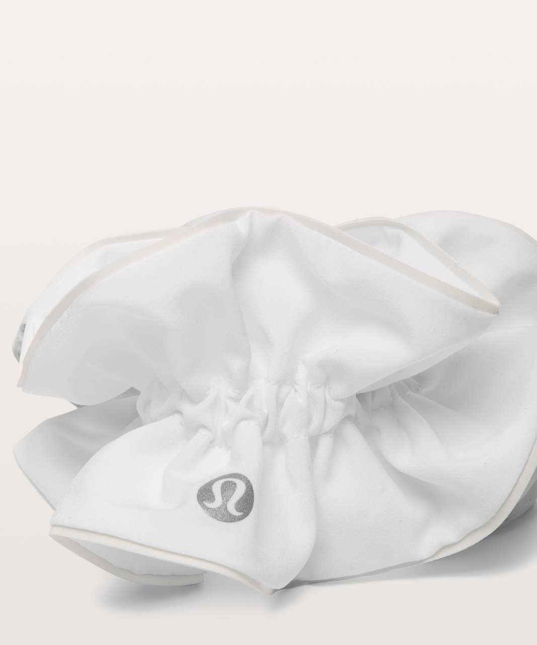 Lululemon Light Locks Scrunchie - White