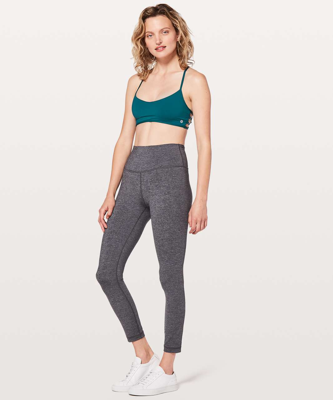 Lululemon Hot Spell Crossback Bra - Dark Uniform Blue