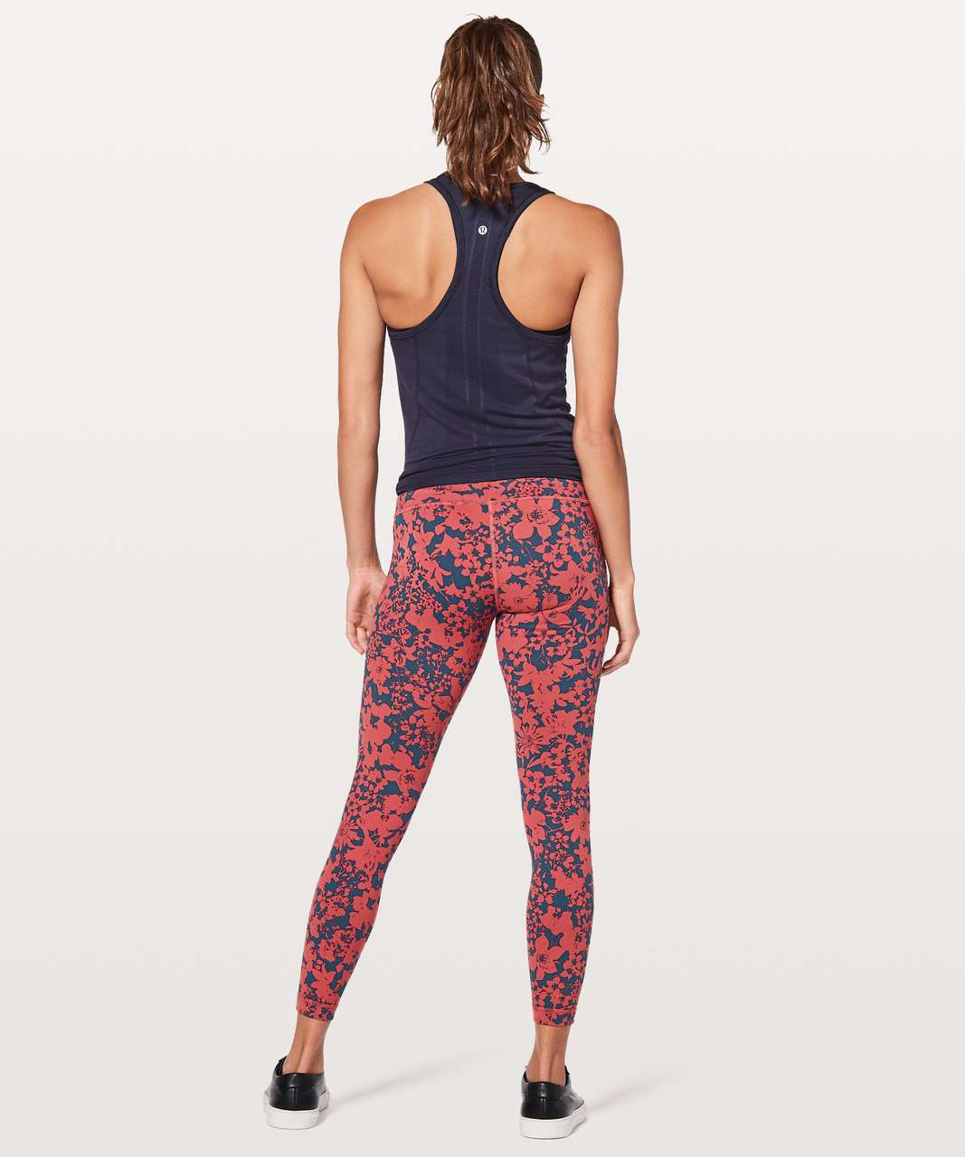 "Lululemon Wunder Under Hi-Rise 7/8 Tight *Full-On Luon 25"" - Efflorescent Dark Canyon Onyx Blue"