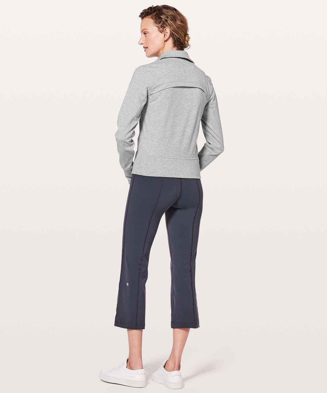Lululemon Gather Up Jacket - Heathered Power Grey / Sea Salt