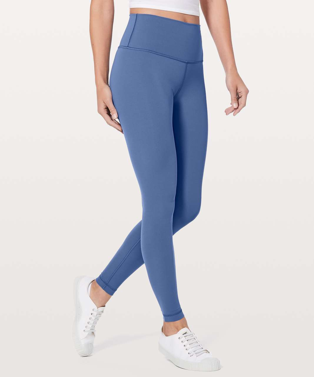 "Lululemon Wunder Under Hi-Rise Tight 28"" - Brilliant Blue"