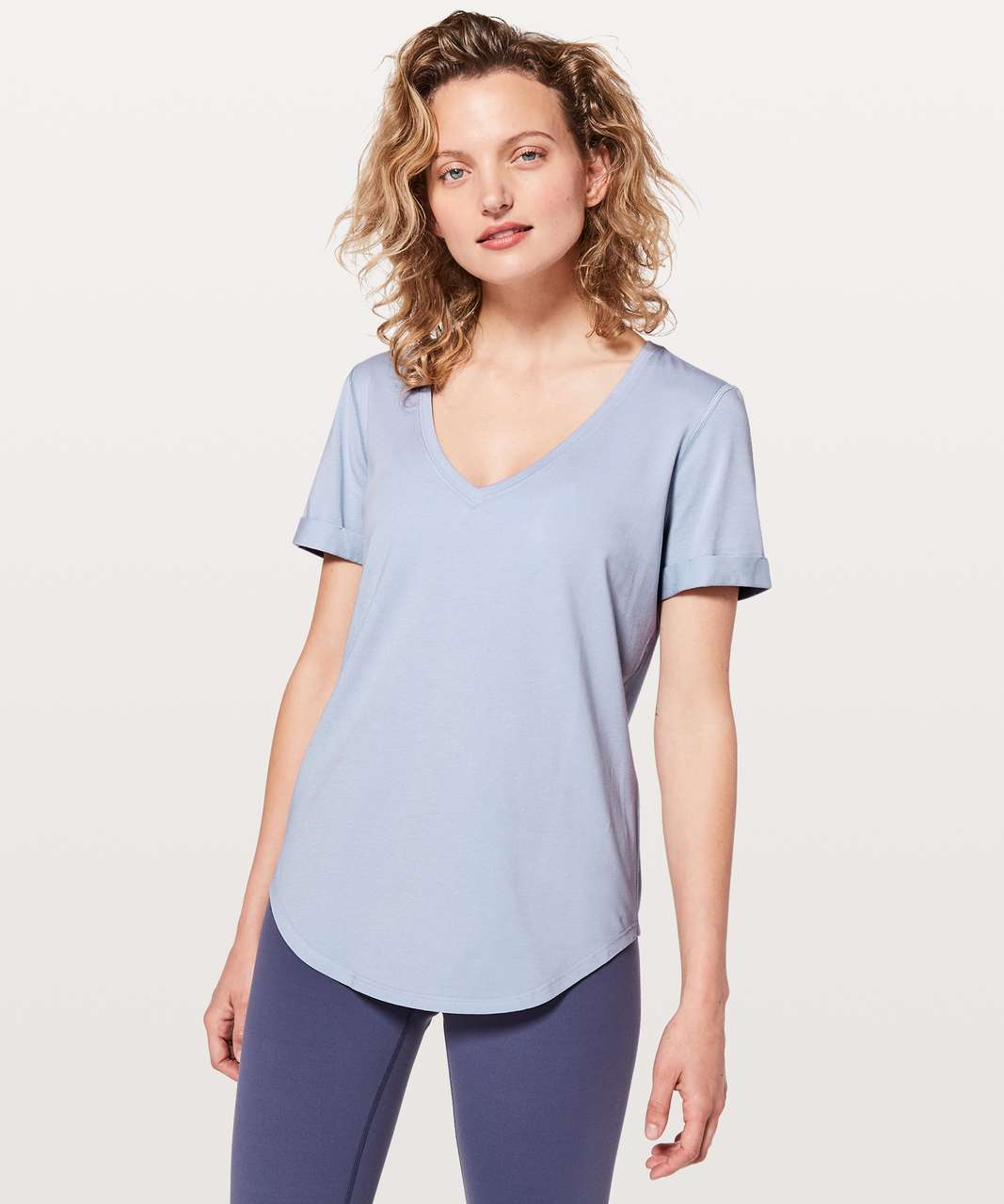 Lululemon Love Tee II - Berry Mist