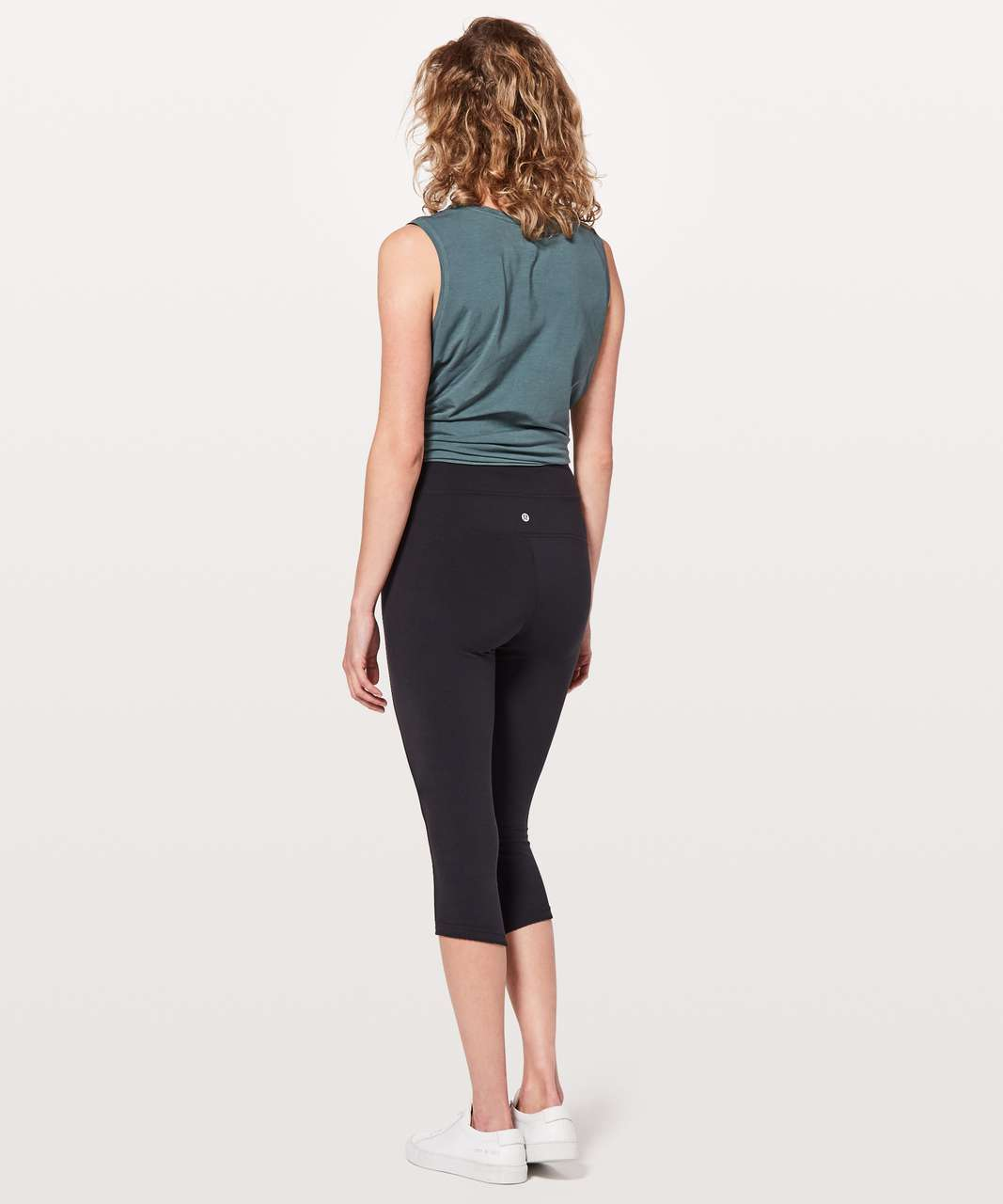 "Lululemon All You Do Crop *19"" - Black"