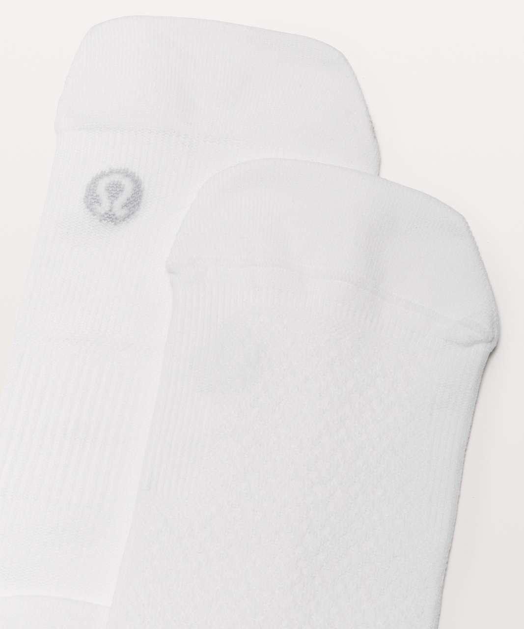 Lululemon Light Speed Sock - White (Third Release)